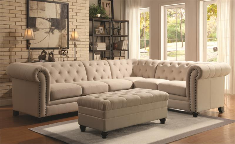 The Roy Chesterfield Sectional