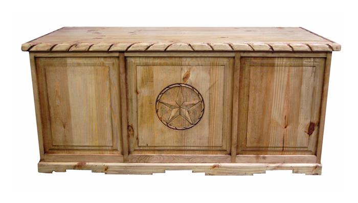 Rustic Americana Hardwood Executive Desk Home Office: RUSTIC FULL SIZE EXECTIVE DESK WITH ROPE EDGE & ENGRAVED STAR