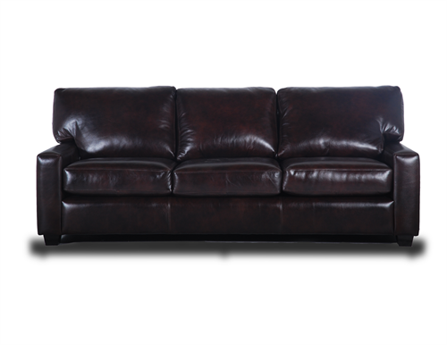 The Maxwell Leather Sofa
