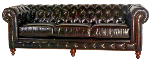 The Kensington Leather Sofa